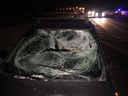 На Оренбургском тракте 9 февраля поздно вечером погиб пешеход