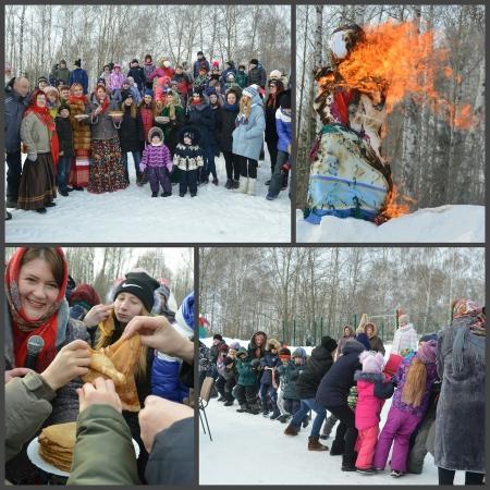 В Прощеный день в Рождествено весело отпраздновали широкую Масленицу