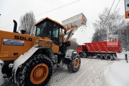 Более 500 машин чистили улицы Казани в ночь на 6 февраля