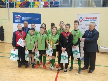 Футболисты детского дома - на третьей ступеньке пьедестала