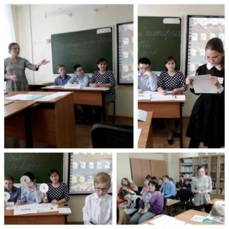 В Лаишевской школе-интернате   продолжаются мероприятия в рамках Недели родного языка
