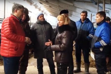 Глава района Михаил Афанасьев сегодня совершил рабочую поездку по району