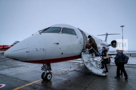 Аэропорт Казани возобновил работу в штатном режиме
