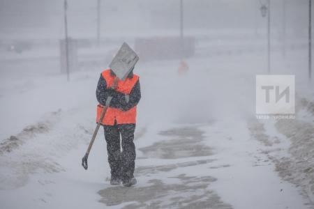Гидрометцентр Татарстана дал прогноз по снежному шторму на ближайшие пять дней