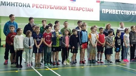 Есть золотая медаль за бадминтон у лаишевских спортсменов!