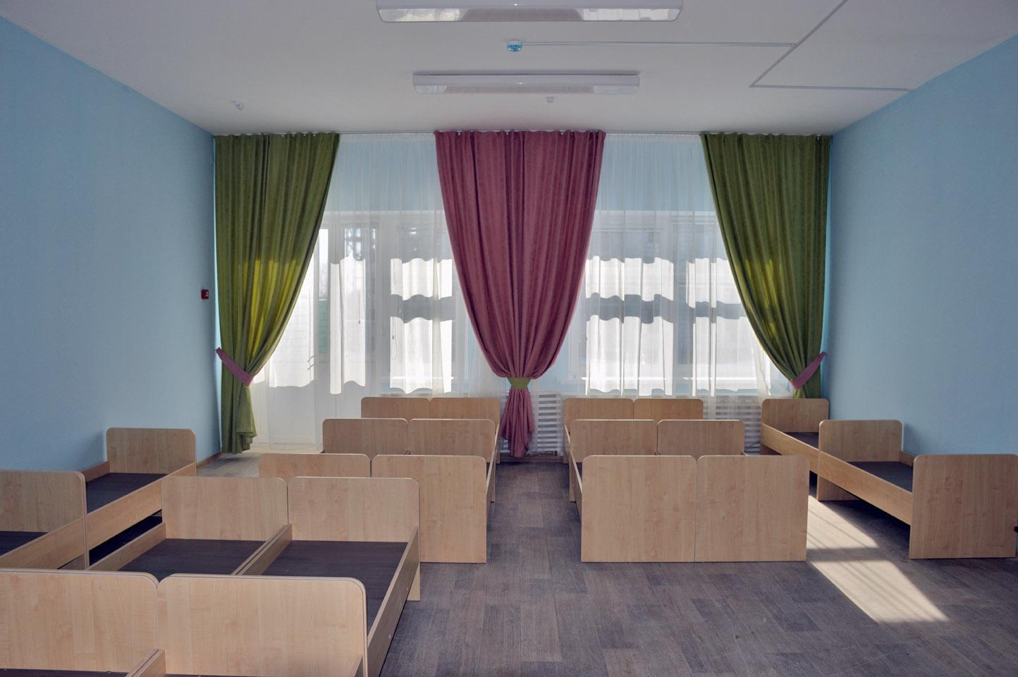 В строящемся жилом комплексе рядом с Усадами готовится к сдаче первый детский сад