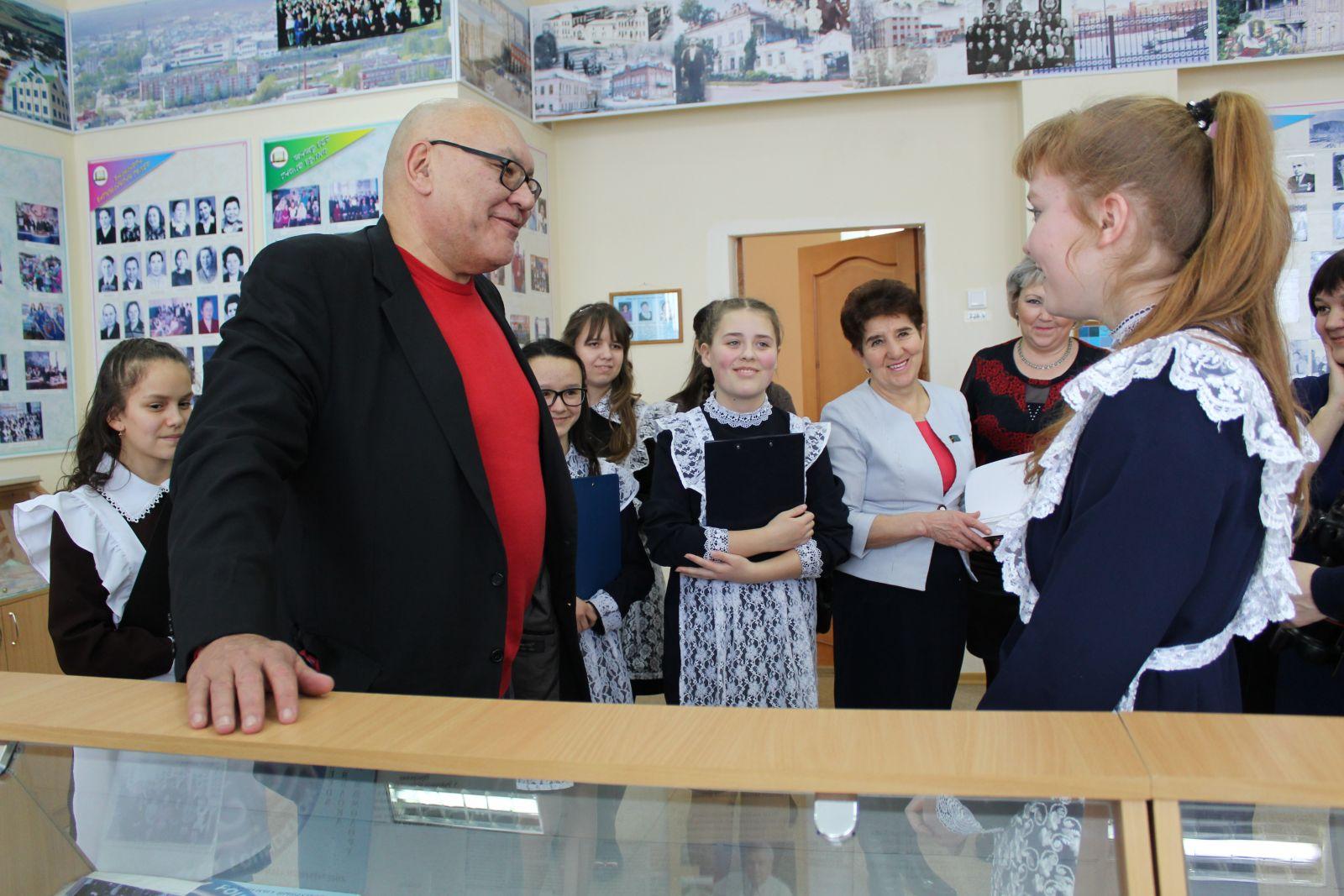 Фото: Кукмор посетила делегация из Кыргызстана во главе с сыном Чингиза Айтматова Аскаром Айтматовым