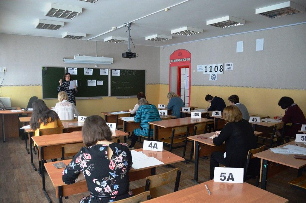 В Лаишеве ЕГЭ по русскому языку писали родители