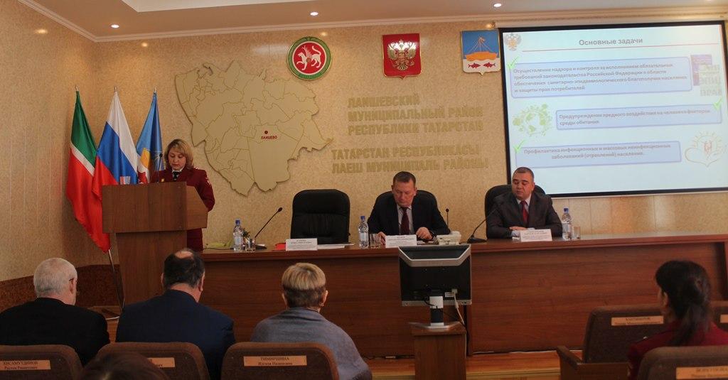 Лаишевский Роспотребнадзор занял 1 место в рейтинге среди территориальных отделений Татарстана. ФОТОГАЛЕРЕЯ