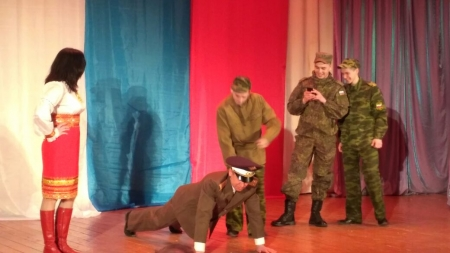День Защитника Отечества отметили в Габишево