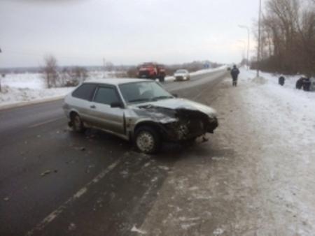 Сегодня, в субботу, у Сокуров столкнулись две машины