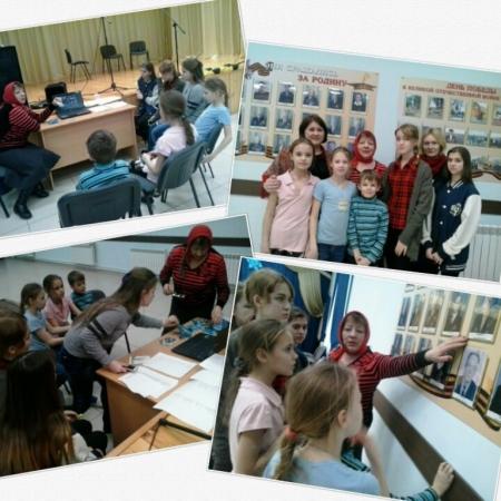 В районе вспоминали о Сталинградской битве