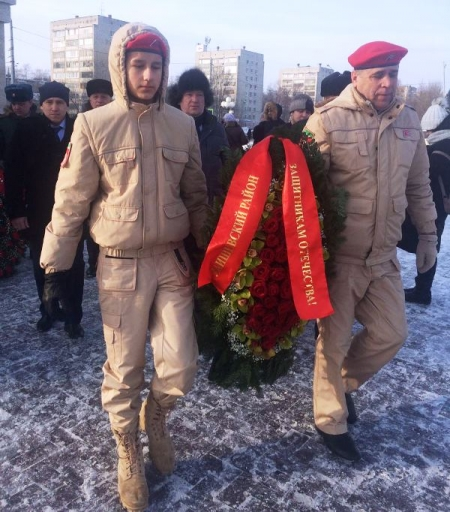 Делегация Лаишевского района отдала дань памяти павшим воинам
