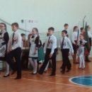 В Никольской школе торжественно прошел «Смотр строя и песни»