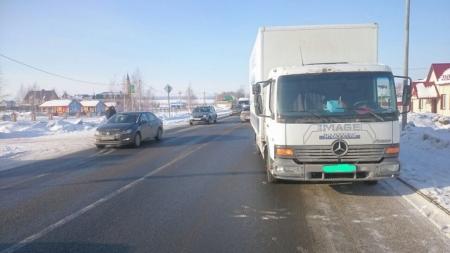 Сегодня в Сокурах машина сбила пятиклассника