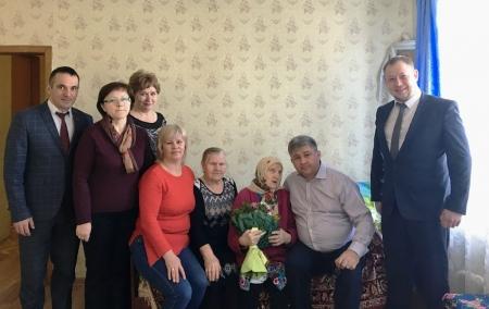Жительнице Больших Кабан сегодня исполнился 101 год!