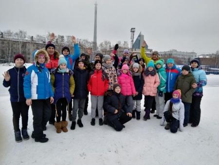 Наши конькобежцы — на Всероссийских соревнованиях