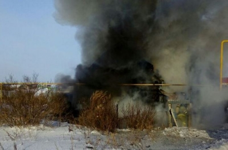 Пенсионеры погибли на пожаре