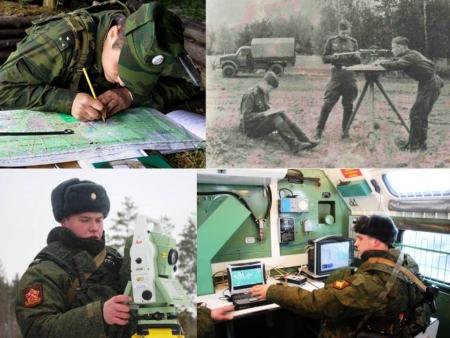 Сегодня отмечают свой праздник российские военные топографы