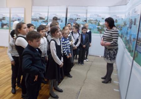 Выездные уроки музея Лаишевского края