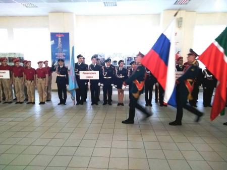 Подростки Лаишевского района участвуют в республиканских и Всероссийских военно-спортивных играх