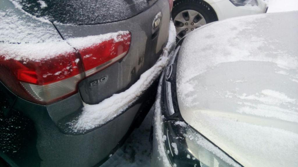 Сегодня в Лаишеве столкнулись машины