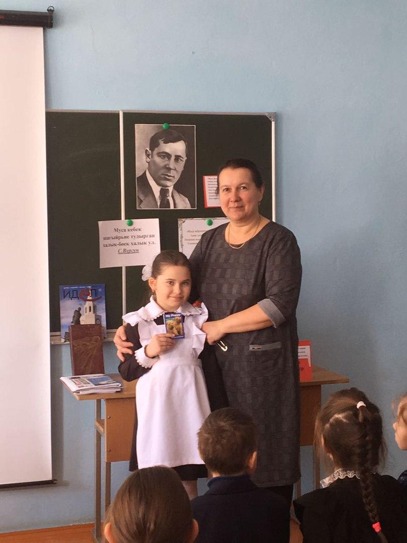 Школьники Лаишевского района прониклись патриотическими стихами Мусы Джалиля