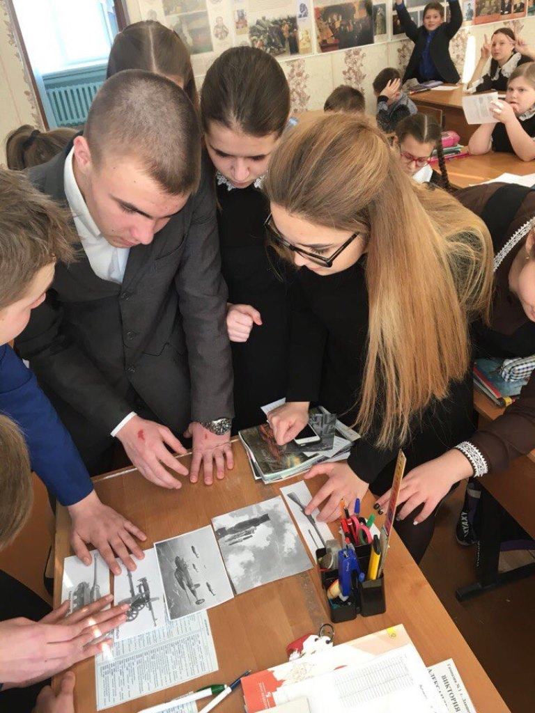 К квест-игре присоединилась Лаишевская  гимназия №1