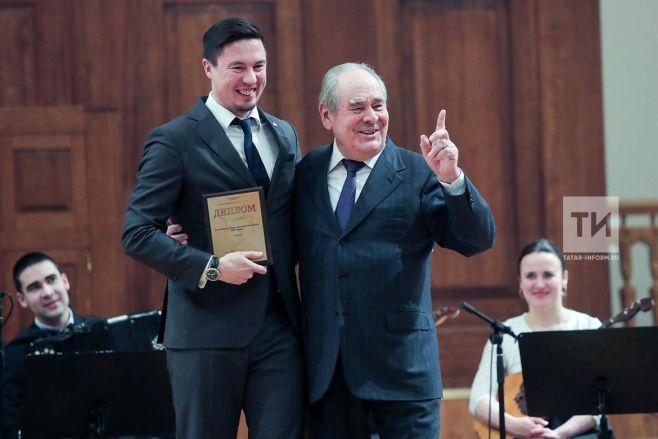 Президент Татарстана наградил победителей конкурса «Благотворитель года-2017»