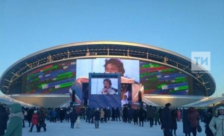 В Казани концерт «Я проголосовал!» собрал тысячи избирателей