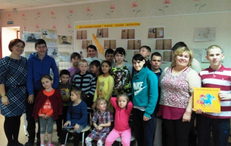 Неделя добра в Лаишевском реабилитационном центре