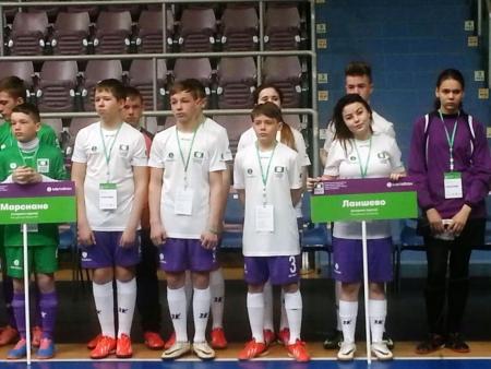Футболисты Лаишевского детского дома  — в пятерке сильнейших команд