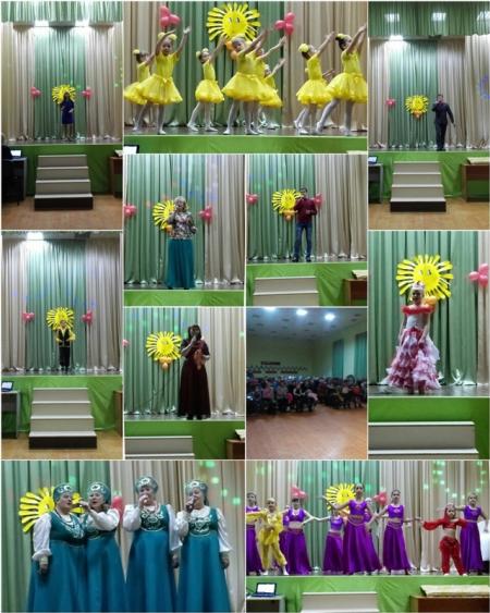 В Нармонке с размахом отметили Международный женский день
