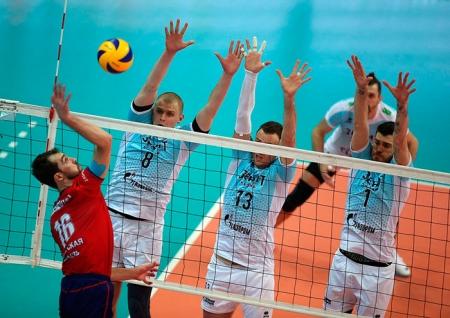 Волейбол. Казанский «Зенит» стартовал с победы в плей-офф Чемпионата России