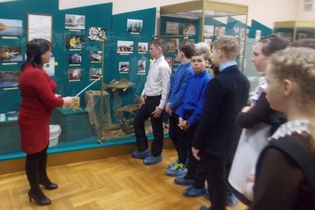 В Музее Лаишевского края провели экскурсию для школьников, приуроченную к Международному дню рек