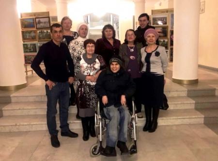 Жители Лаишева побывали в филармонии на концерте дуэта «Бер аваз»