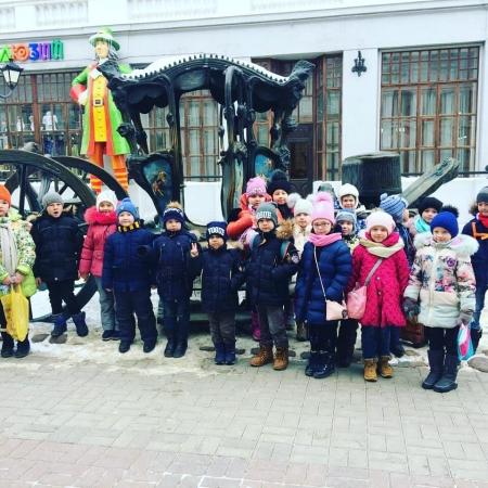 Школьники Лаишевского района путешествовали вместе с Буратино