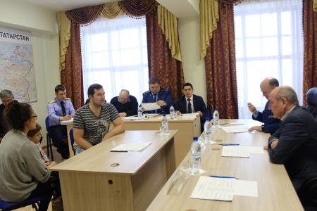 Прием граждан в Лаишеве провел главный федеральный инспектор по РТ Ренат Тимерзянов