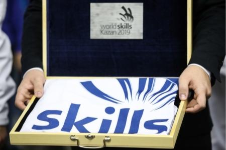 В Мадриде стартовала эстафета флага WorldSkills