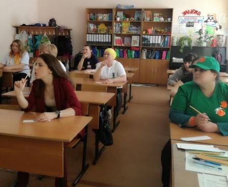 Учителя начальных классов соревновались на знание ПДД