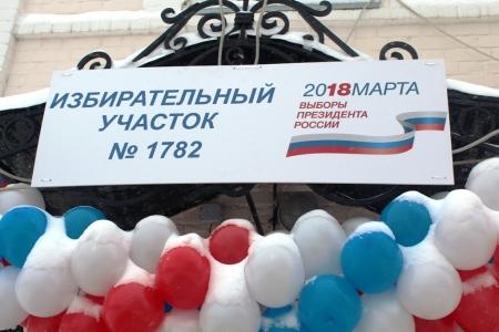 Явка на выборах Президента России на 14.00 составила 34,72 процента