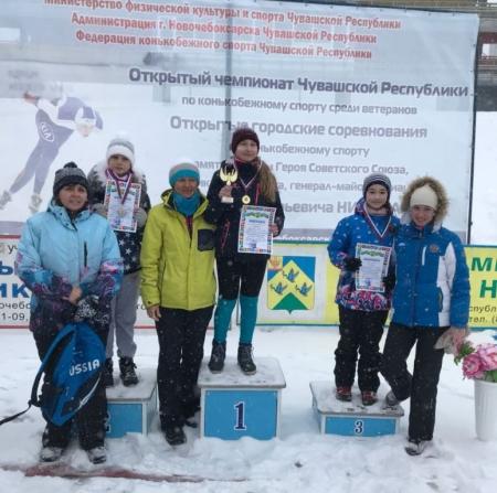 Спортивные звездочки Лаишева. Конькобежцы
