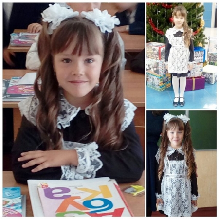 ФОТО на конкурс «Мисс школьница 2018». Участница – Ева Лещенко
