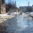 Потоп  в Казани при 13-градусном морозе