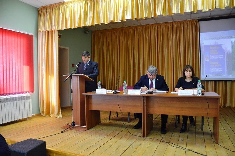 В Макаровском поселении отчитались об итогах работы за 2017 год