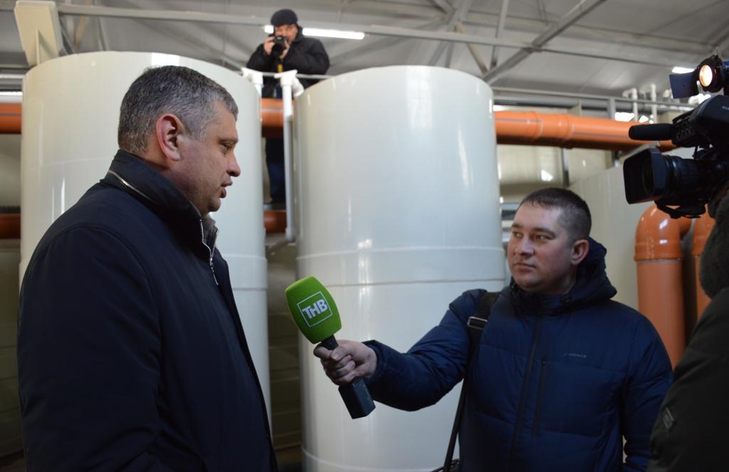 В Лаишеве открыли новые очистные сооружения