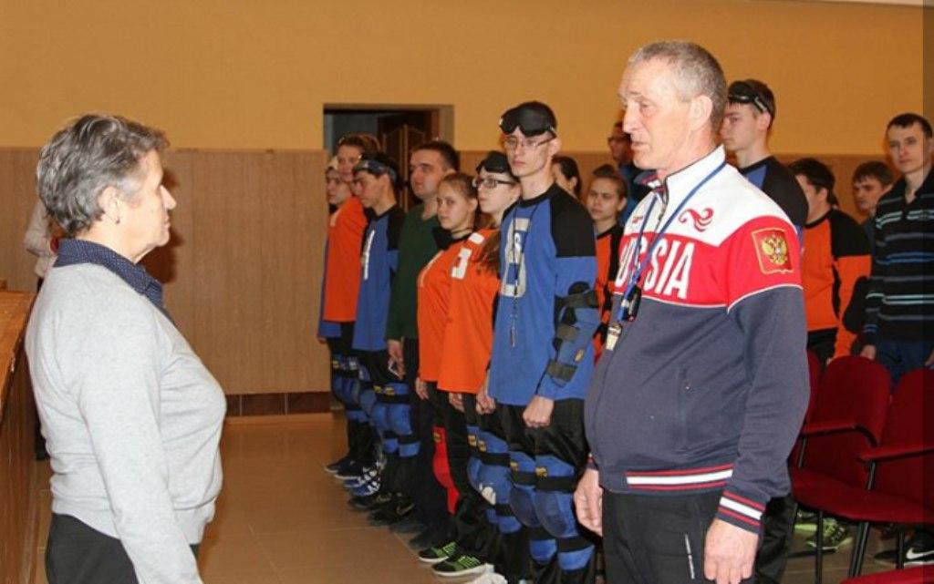 Первенство и чемпионат РТ по голболу прошли в Лаишевском техникуме