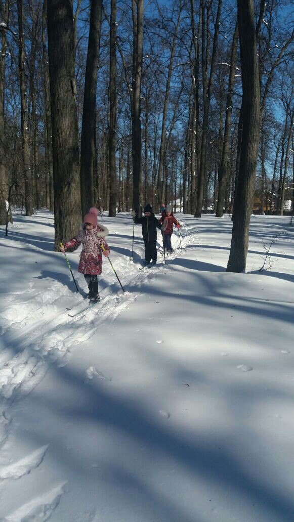 Хороша весенняя лыжня