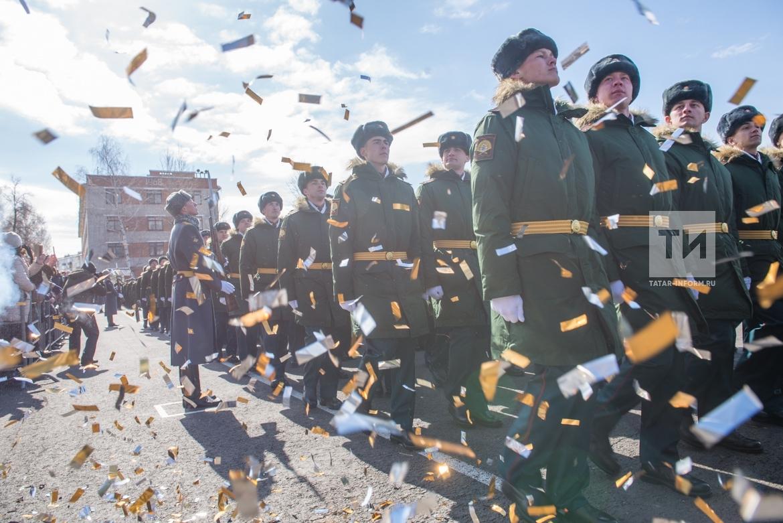 Выпуск офицеров-танкистов