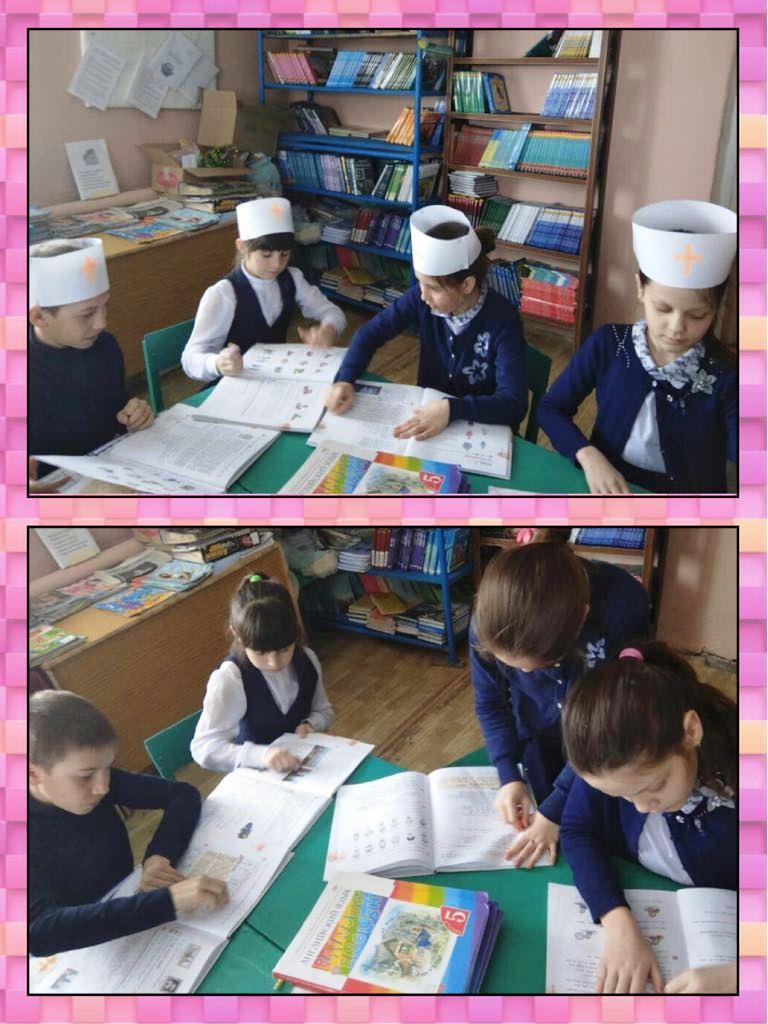 Ученики Ташкирменской школы – активные участники Весенней недели добра